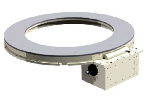 Rotary indexing ring belt-drive for stepper motors max  ø 2 100 mm